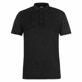 Firetrap Blackseal Embroidered Polo