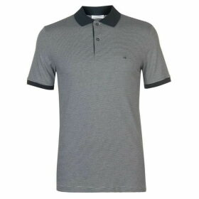 Calvin Klein Tailoring Calvin Striped Polo Mens