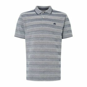 Raging Bull Birdseye Stripe Polo