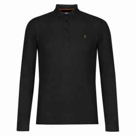 Farah Vintage Farah Merriweather Long Sleeve Polo Mens