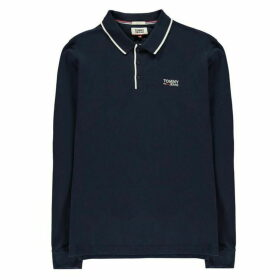 Tommy Jeans Long Sleeve Polo