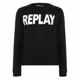 Replay Logo Crew Sweatshirt