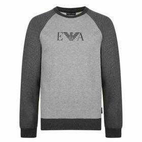 EMPORIO ARMANI UNDERWEAR Two Tone Sweatshirt