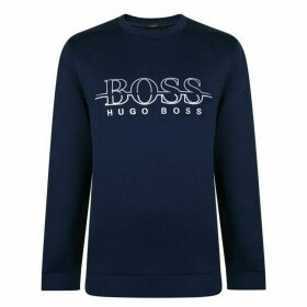 Boss Slim Fit Logo Sweatshirt
