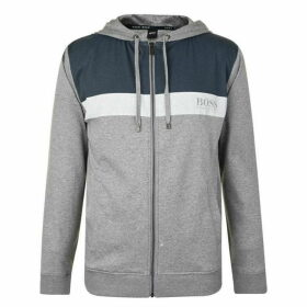 BOSS BODYWEAR Panel Tonal Zip Sweatshirt