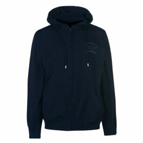 Paul And Shark Zip Through Hooded Sweatshirt