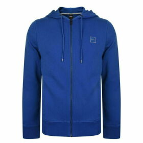 BOSS French Terry Zip Hooded Sweatshirt