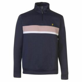 Farah Sport Wyness quarter Zip Sweatshirt