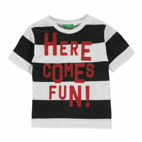 Benetton Stripe T Shirt