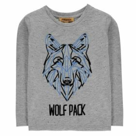 Rock and Wilde Long Sleeve Wolf T Shirt