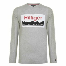 Tommy Hilfiger Long Sleeve Logo T Shirt