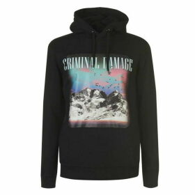 Criminal Damage Criminal Mount Hoody Mens