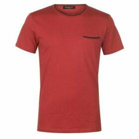 Selected Homme Selected Pan Pocket T Shirt Mens