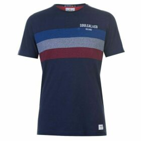 SoulCal Deluxe Chest Stripe T Shirt