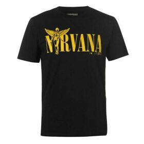 Replay NIRVANA Logo T Shirt