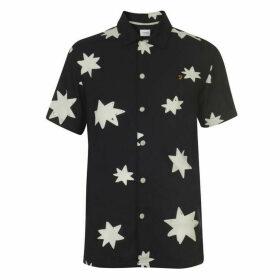 Farah Vintage Farah Star Print Shirt Mens