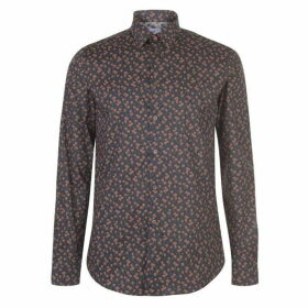Paul Smith Tailoring PS Cuban Palm Print Shirt Mens