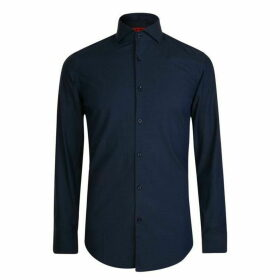 Hugo Business Long Sleeve Dot Shirt