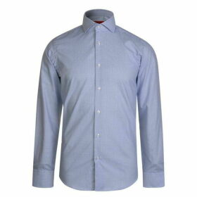 Hugo Business Cross Print Shirt