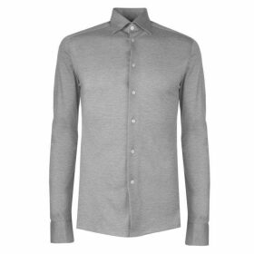Eton Stretch Jersey Shirt Mens