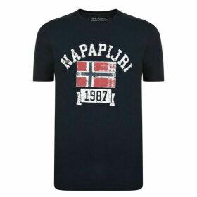 Napapijri Sleeve Logo T Shirt