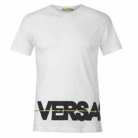 Versace Jeans Couture Versace Bottom Logo T Shirt