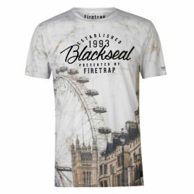 Firetrap Blackseal London T Shirt