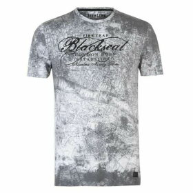 Firetrap Blackseal London Map T Shirt
