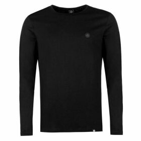 Pretty Green Long Sleeve Jersey Basic Tee