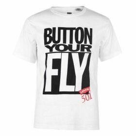 Levis Surplus Button T Shirt