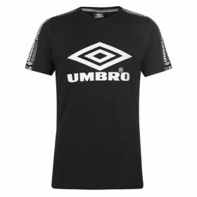 Umbro Taped Crew Neck Neck T Shirt