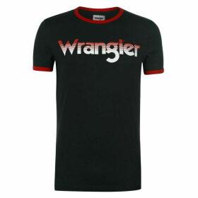 Wrangler Logo Ringer T Shirt