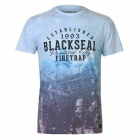 Firetrap Blackseal Fade T Shirt