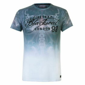 Firetrap Blackseal Spine T Shirt