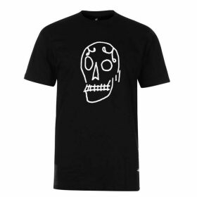 Swallows and Daggers Skull T Shirt