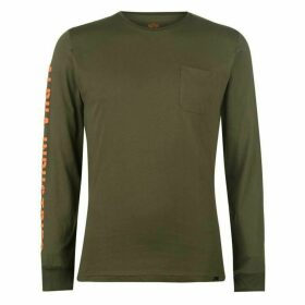 Alpha Industries Long Sleeve T Shirt Mens