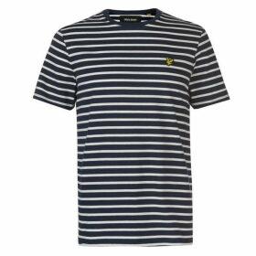 Lyle and Scott Breton Stripe T Shirt