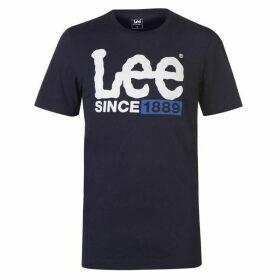 Lee Jeans Lee 1889 Logo T Shirt Mens