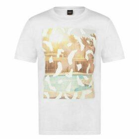Boss Hugo Pool Print T Shirt