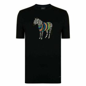 PS BY PAUL SMITH Zebra Print T Shirt