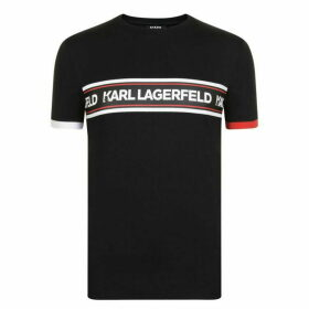 Karl Lagerfeld Tape T Shirt