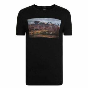 BOSS Graphic Print T Shirt