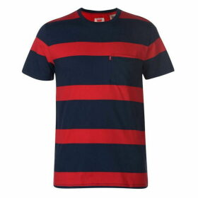 Levis Large Stripe T Shirt Mens