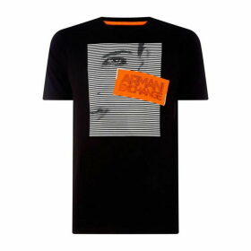 Armani Exchange AX GraphicStripe Tee Sn92