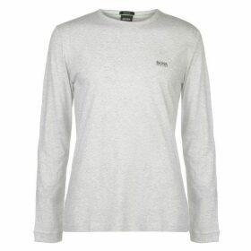 Boss Hugo Long Sleeve Slogan T Shirt Mens
