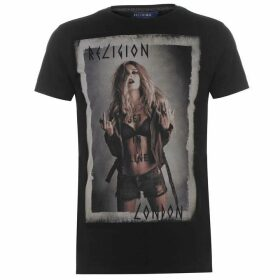 Religion Mens Get In Line T-Shirt