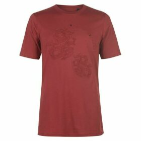 Armani Exchange Armani Dragon Logo T Shirt Mens