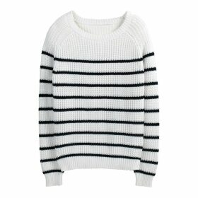 Breton Striped Chunky Cotton Knit Jumper