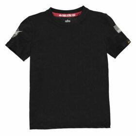 Alpha Industries NASA Badge T Shirt