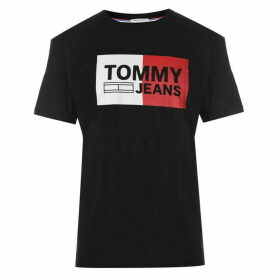 Tommy Jeans Essential Split Box T Shirt